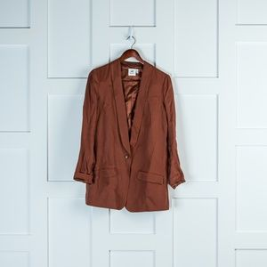 H&M Studio Brown/Rust Blazer